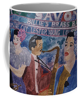 Billie's Brass Band Coffee Mug