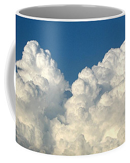 Coffee Mug featuring the photograph Billowing Clouds 1 by Rose Santuci-Sofranko