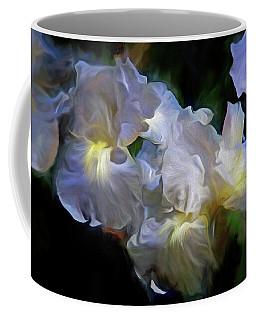 Billowing Irises Coffee Mug