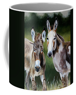 Bill's Donkeys Coffee Mug