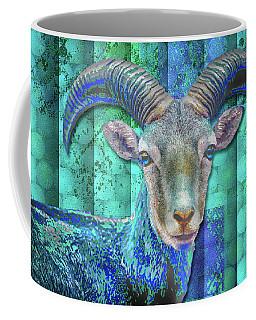 Billy Goat Blue Coffee Mug