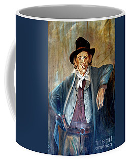 Billy The Kid Coffee Mug by Bob Pardue