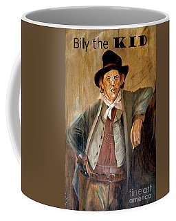 Billy The Kid W Text Coffee Mug by Bob Pardue