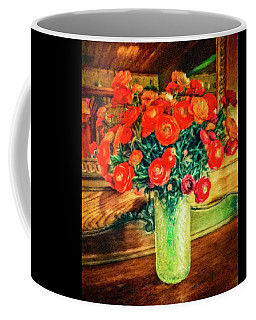 Billy's Flowers Coffee Mug