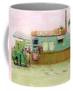 Biloxi Beach Snowball Stand Mississippi Gulf Coast Coffee Mug