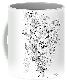 Biology Of An Idea Coffee Mug by Regina Valluzzi