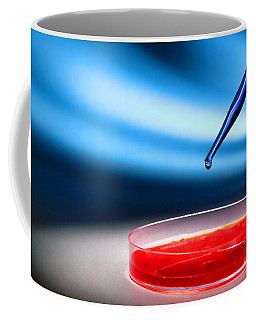 Biotechnology Experiment In Science Research Lab Coffee Mug