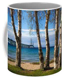 Birch At The Mac Coffee Mug