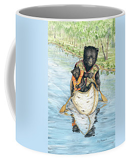 Birch Bark Canoe Coffee Mug