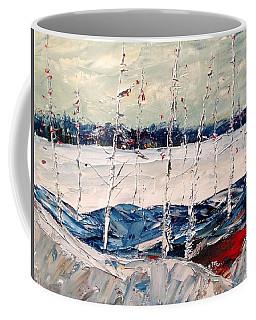 Birch Early Freeze Up Coffee Mug