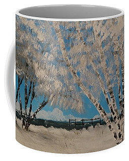 Birch Snow Coffee Mug