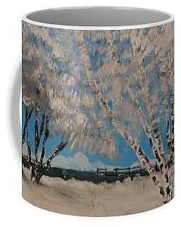 Birch Snow Coffee Mug