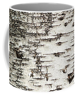 Coffee Mug featuring the photograph Birch Tree Bark by Christina Rollo