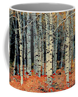 Birch Tree Forest 1 Coffee Mug