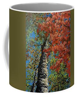 Birch Tree - Minister's Island Coffee Mug