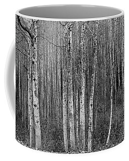 Birch Tress Coffee Mug