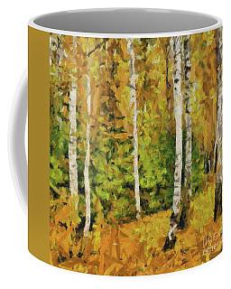 Birches And Spruces Coffee Mug