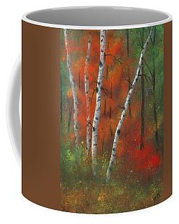 Birches II Coffee Mug