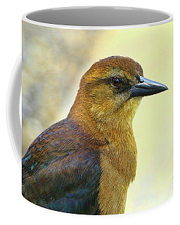 Coffee Mug featuring the photograph Bird Beauty by Deborah Benoit