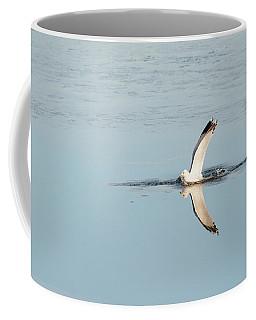 Bird Catching A Fish Coffee Mug
