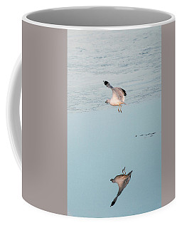 Bird Caught Fish Coffee Mug