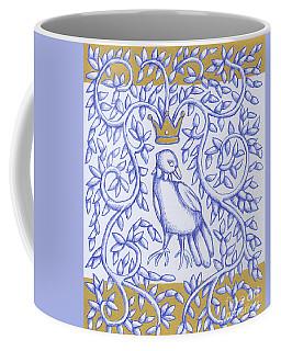 Bird Crown Gold Coffee Mug