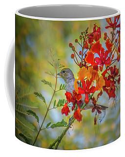 Bird In Bush Coffee Mug