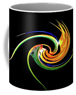 Bird Of Paradise Abstract 4 Coffee Mug