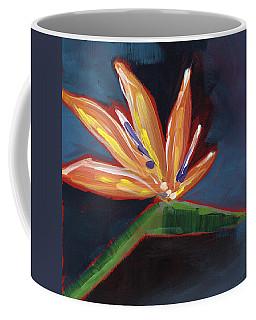 Bird Of Paradise- Art By Linda Woods Coffee Mug