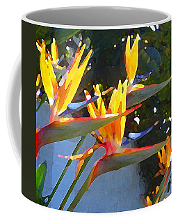 Bird Of Paradise Backlit By Sun Coffee Mug