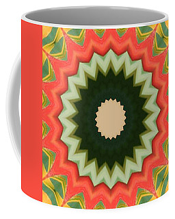 Coffee Mug featuring the photograph Bird Of Paradise Kaleidoscope by Bill Barber