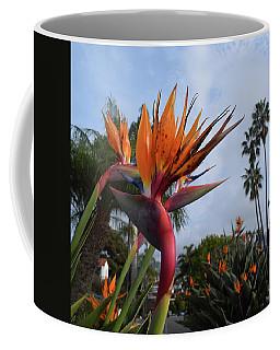 Bird Of Paradise Peace And Joy Coffee Mug