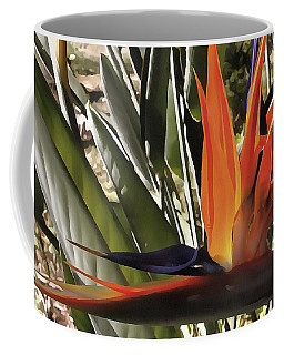Bird Of Paradise Strelitzia Coffee Mug