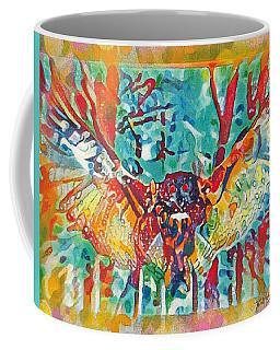 Bird Of Prey The Great Horned Owl Coffee Mug