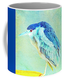 Bird On A Chair Coffee Mug