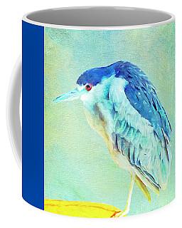 Bird On A Chair Coffee Mug