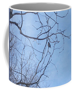 Bird On A Limb Coffee Mug by Jewel Hengen