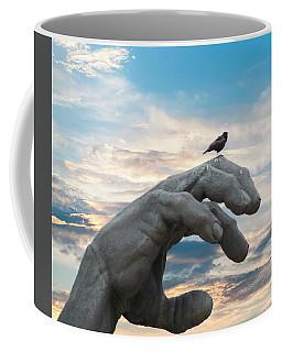 Bird On Hand Coffee Mug