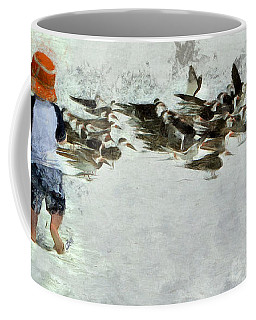 Bird Play Coffee Mug