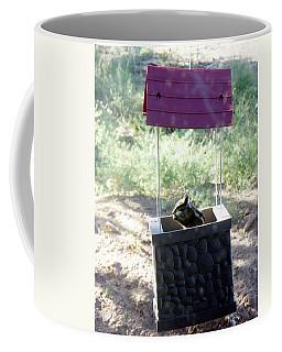 Bird Seed Thief Chipmunk Coffee Mug