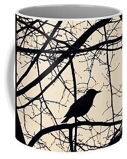 Bird Silhouette Coffee Mug by Sarah Loft