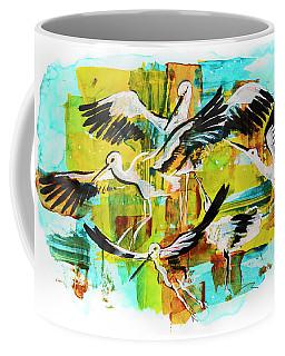 Bird Storks, Illustration  Coffee Mug