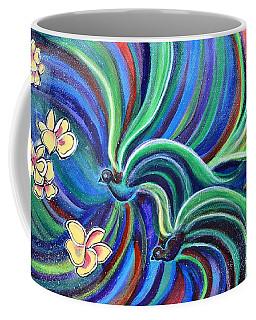Bird Symphony With Frangipani Coffee Mug