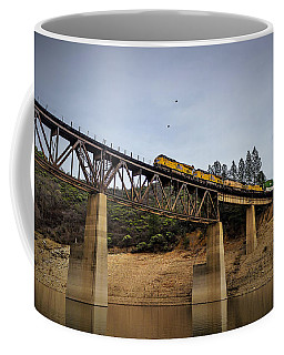 Bird Vs Train Coffee Mug