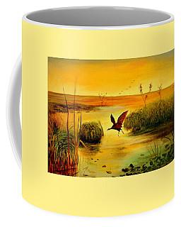 Bird Water Coffee Mug by Henryk Gorecki