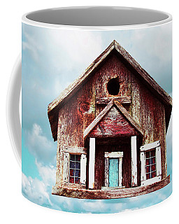Birdhouse Coffee Mug