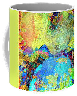 Coffee Mug featuring the painting Birdland by Dominic Piperata
