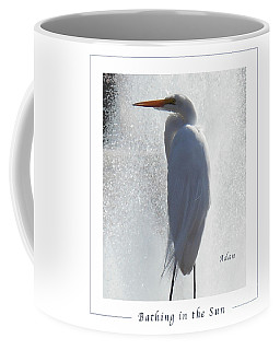 Birds And Fun At Butler Park Austin - Birds 2 Macro Poster Coffee Mug