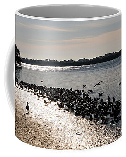 Birds At The Beach Coffee Mug