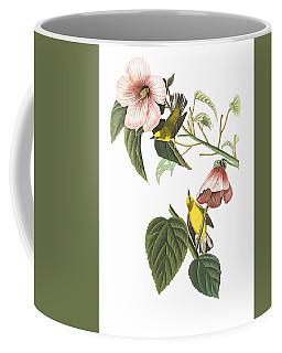 Coffee Mug featuring the photograph Birds Chat by Munir Alawi